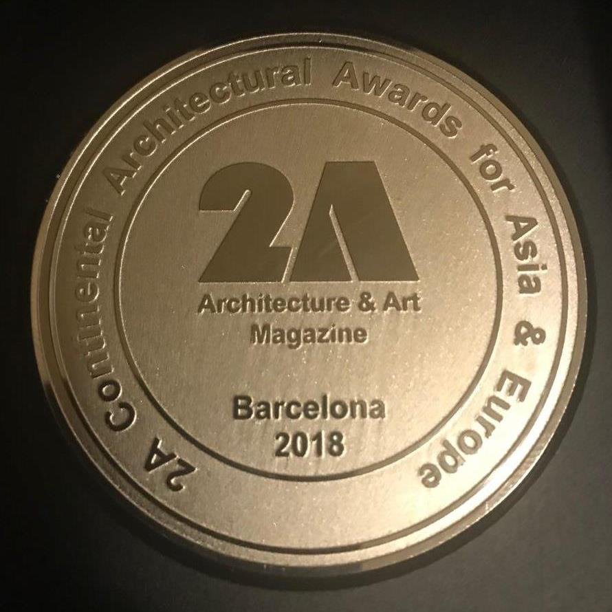 SOFTSTONE winner of 2A continental award at IAAC Barcelon, in Commercial– Office and Business